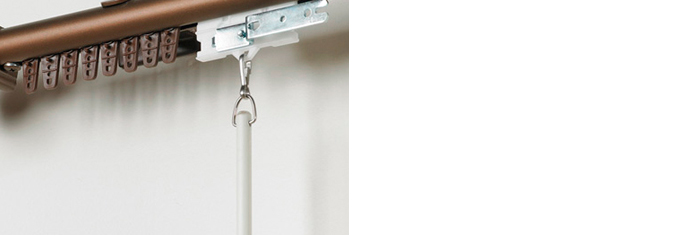 Curtain Draw Rods