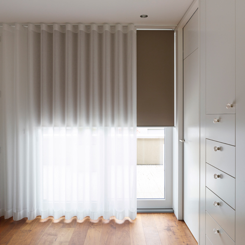 Silent Gliss Wave Curtains Colorama 1 Transparent
